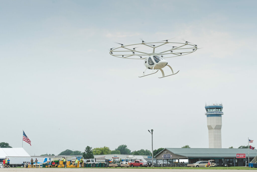 Volocopter, the pioneer of urban air mobility (UAM), flew at the Experimental Aircraft Association's (EAA) AirVenture 2021 in Wisconsin.