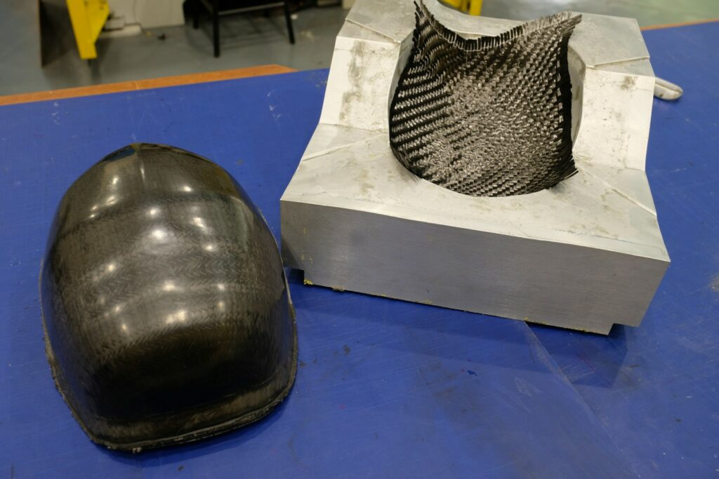 The NTU researchers are working with Arkema to commercialise the helmet's manufacturing process, which would allow interested manufacturers to produce them.