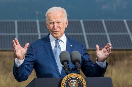 President Biden makes historic visit to NREL's Flatirons campus
