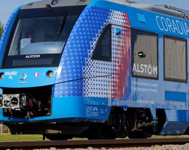 Alstom's Coradia iLint hydrogen train runs for the first time in France