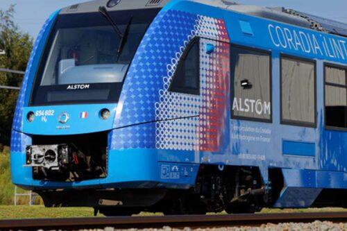 Le train à hydrogène Coradia iLint d'Alstom circule pour la première fois en France