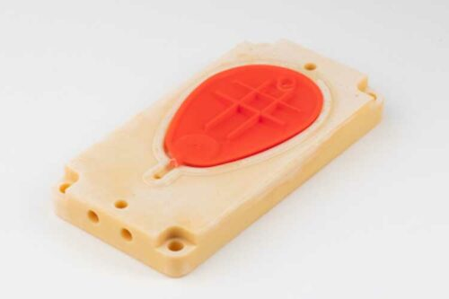 New resin e-PerFORM, based on SLA resin Somos PerFORM, has been optimized for EnvisionTEC DLP 3D printers. (Photo: Business Wire)
