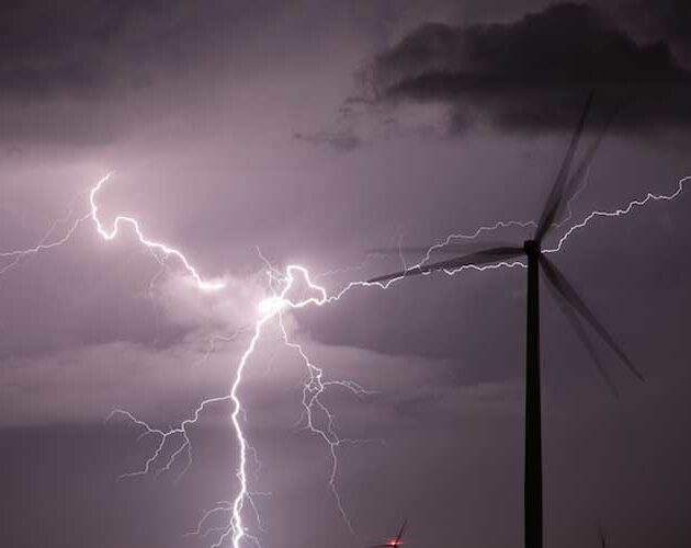 Lightning no match for wind turbine blade protection system