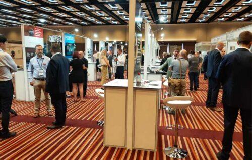 Inaugural International Composites Summit : Good to meet peers again (Courtesy of Fluency Marketing)