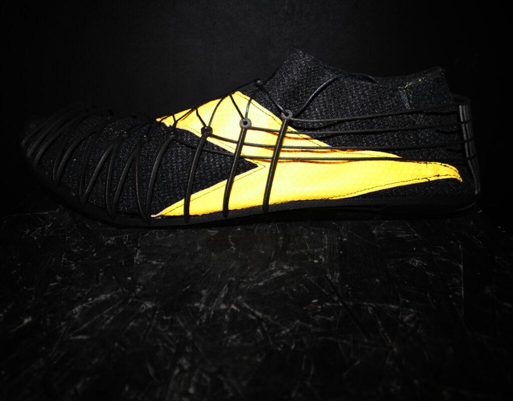 Pleko, side view - Finished footwear. Courtesy CRP Technology/Miro Buroni