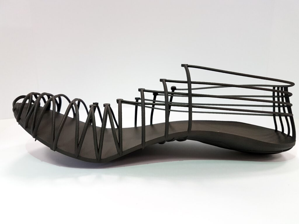Pleko, side view - 3D printed main structure in Windform® SP.  Courtesy CRP Technology/Miro Buroni