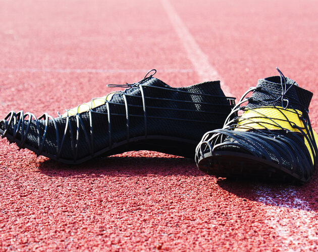 Pleko, the revolutionary spike shoes made in Carbon fiber filled composite and 3D printing