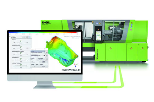Engel sim link data interface extended to include CADMOULD